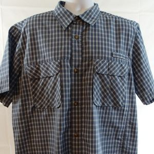 Men's Big Sky Outfitters Fishing Camp Vented Shirt